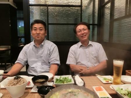 左:上原榮治さん 右:松原光昭さん