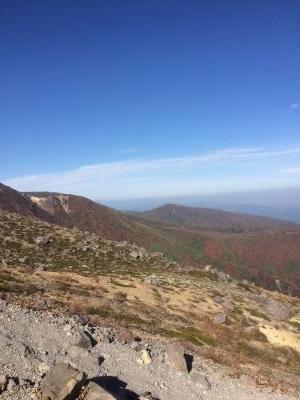 那須 茶臼岳 登山道