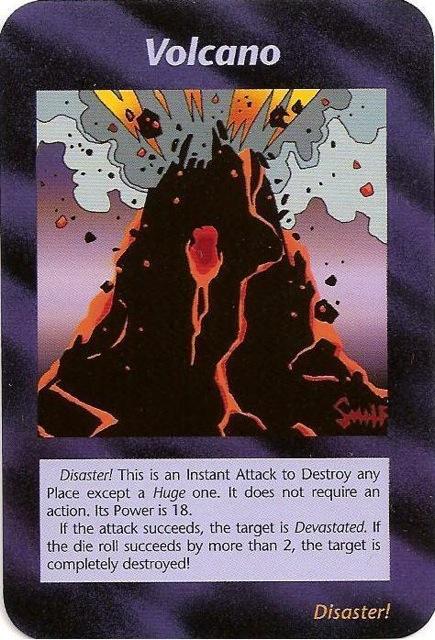 イルミナティカード火山