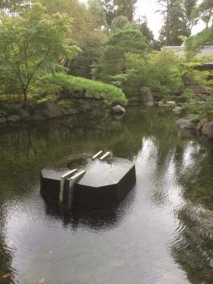 寒川神社 庭園
