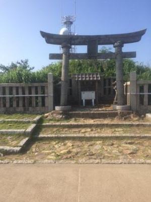 弥彦神社 奥の院