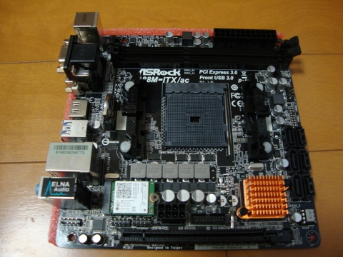 ASRock A88M-ITX/ac (2016年10月9日)
