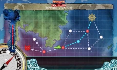 第二次マレー沖海戦 E-1 MAP (2016年8月13日)
