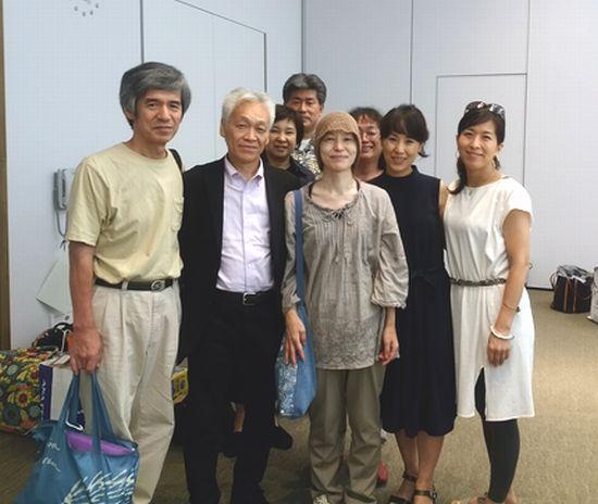 瀬埼美奈子さん夫妻と