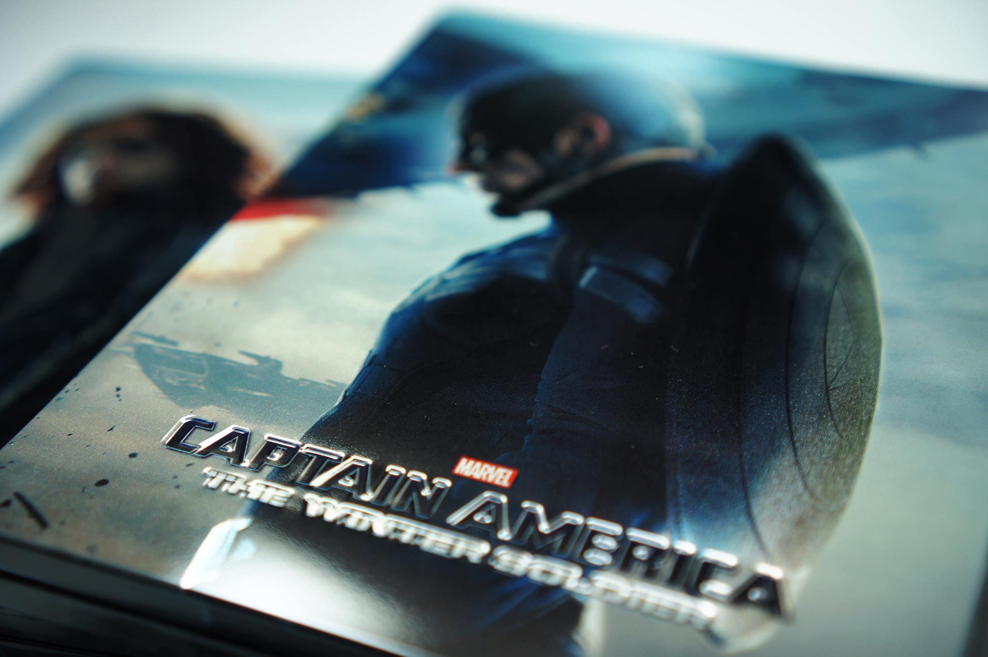 キャプテン・アメリカ/ウィンター・ソルジャー KimchiDVD スチールブック