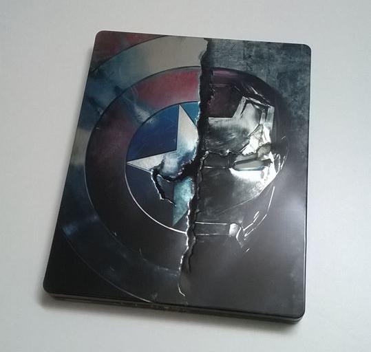 シビ7ル・ウォー/キャプテン・アメリカ スチールブック