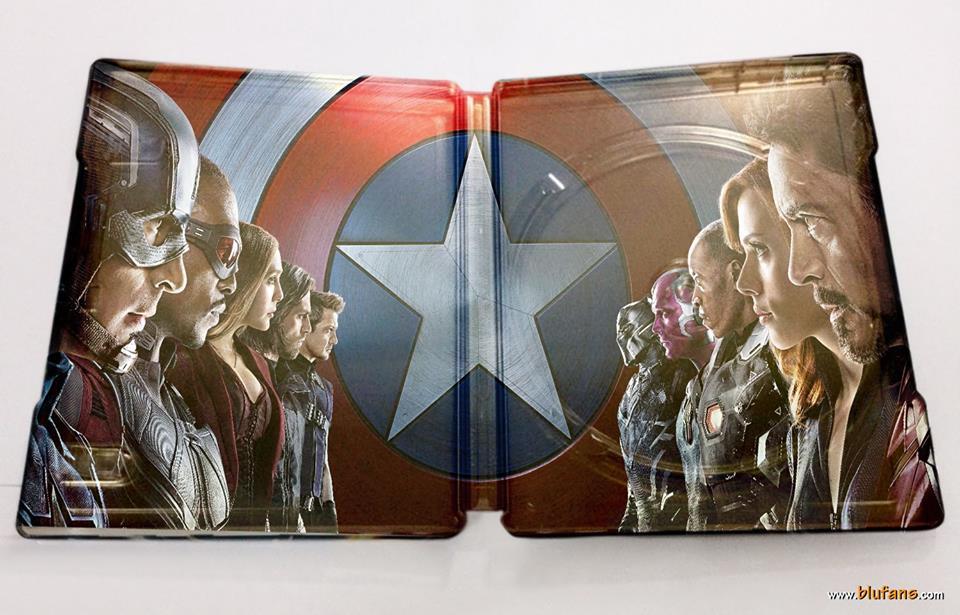 シビル・ウォー/キャプテン・アメリカ Blufans スチールブック