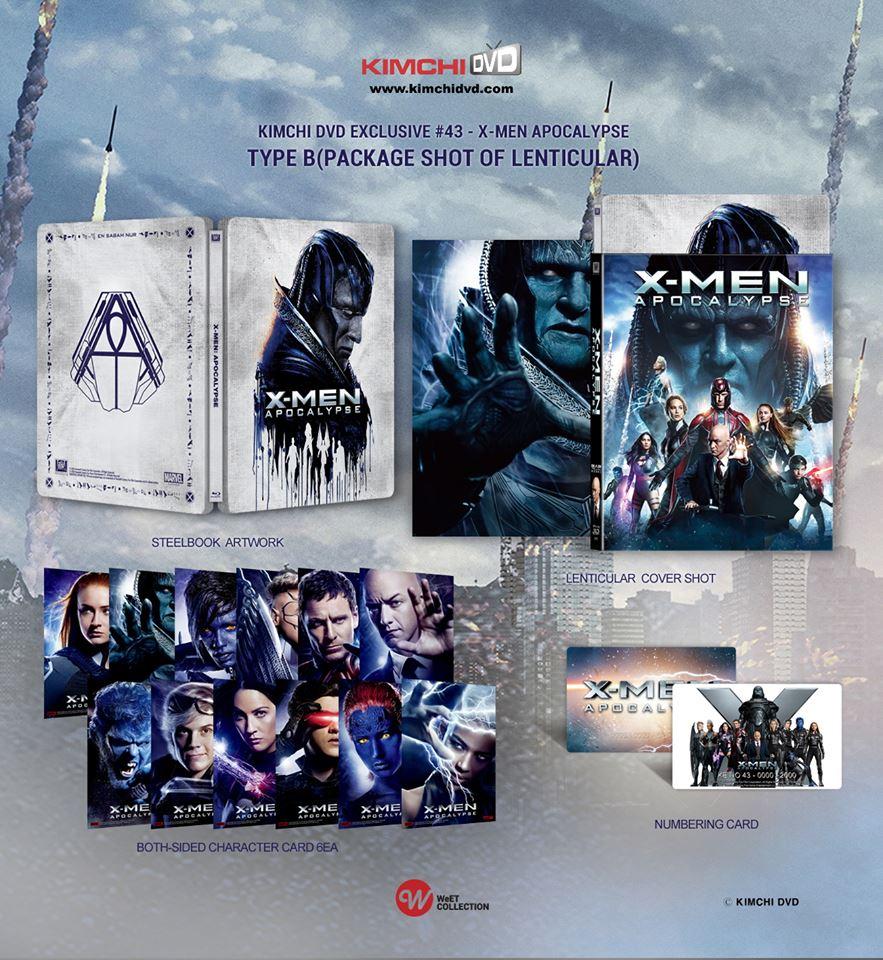 X-MEN: アポカリプス KimchiDVD スチールブック
