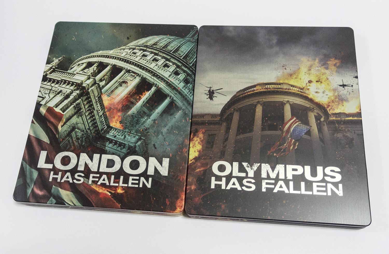 エンド・オブ・キングダム エンド・オブ・ホワイトハウス UK スチールブック