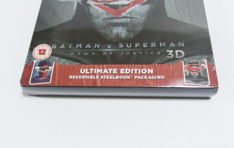 バットマン vs スーパーマン ジャスティスの誕生 HMV UK スチールブック