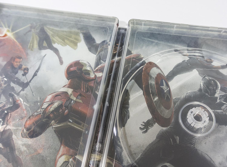 シビル・ウォー キャプテン・アメリカ MovieNEX スチールブック