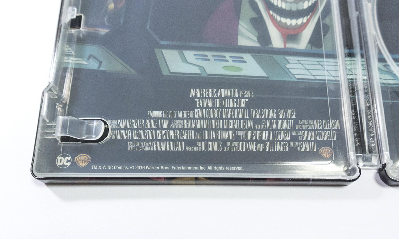 バットマン:キリングジョーク zavvi スチールブック