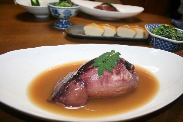 いかのお豆腐詰め煮