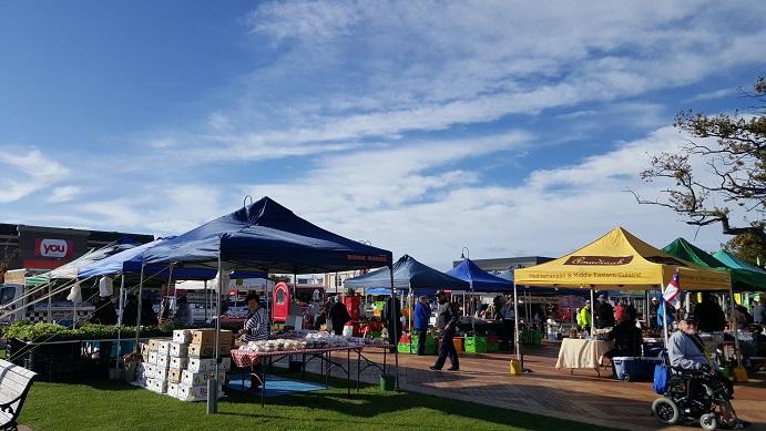 20160520_ニュージーランドFeildingのマーケット1