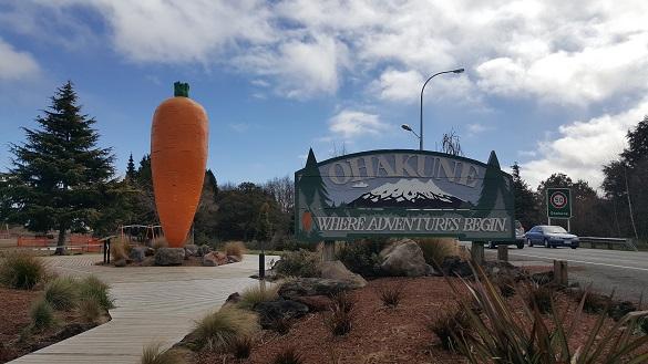 ニュージーランド・オハクネ(Ohakune)はニンジンの町-1