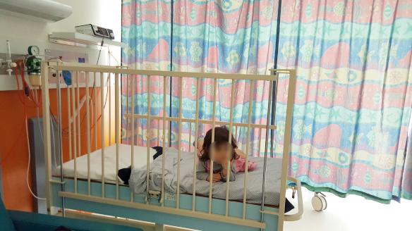 ニュージーランド パーマストンノース病院に子供が入院-1