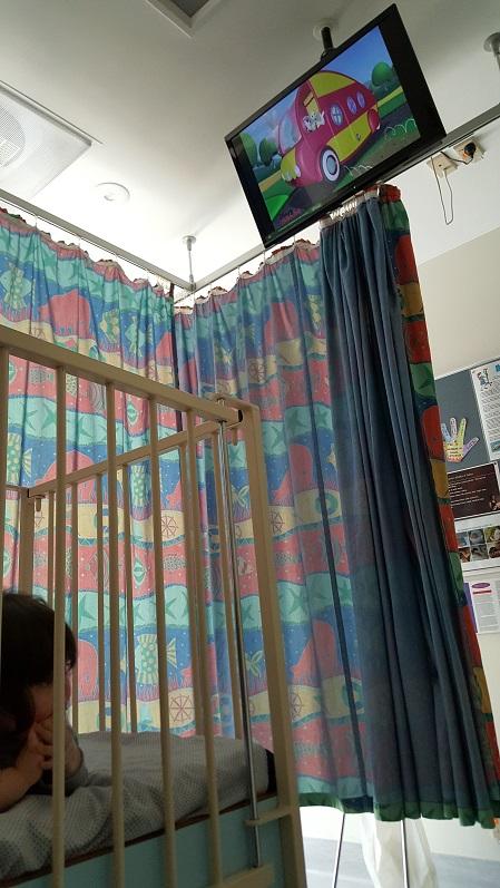 ニュージーランド パーマストンノース病院に子供が入院-2