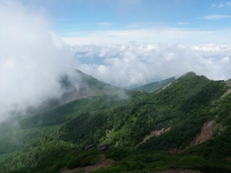 160724西岳~権現岳~編笠山 (26)s