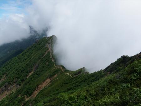 160724西岳~権現岳~編笠山 (30)s
