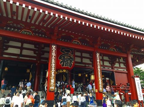 浅草寺入口