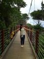 門脇のつり橋