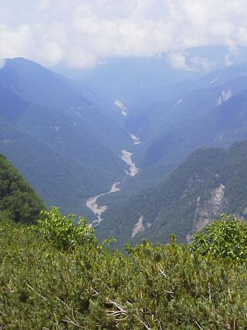 三峰川支流黒川