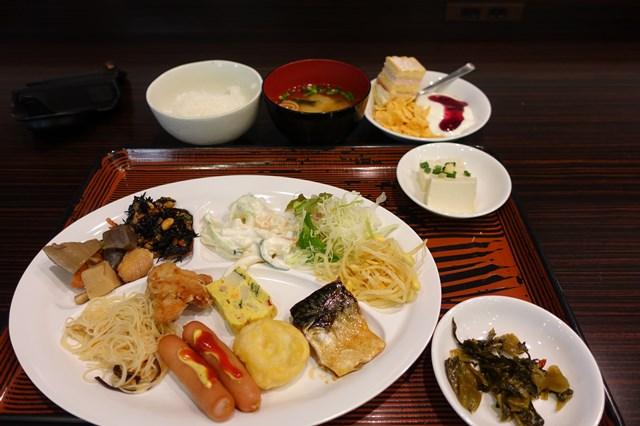 広島旅行5 グリーンリッチホテル (朝食1) (1)