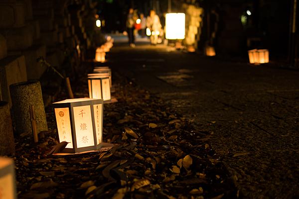 千燈の灯り