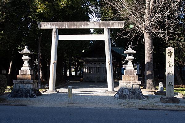 津島神社入り口