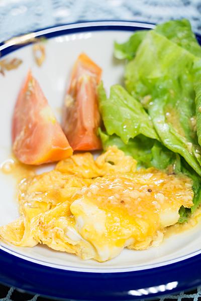 鯛の卵とじ焼き