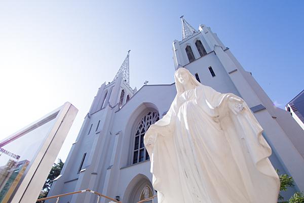 マリア様と布池カトリック教会