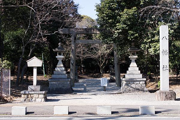 柏井町八幡社