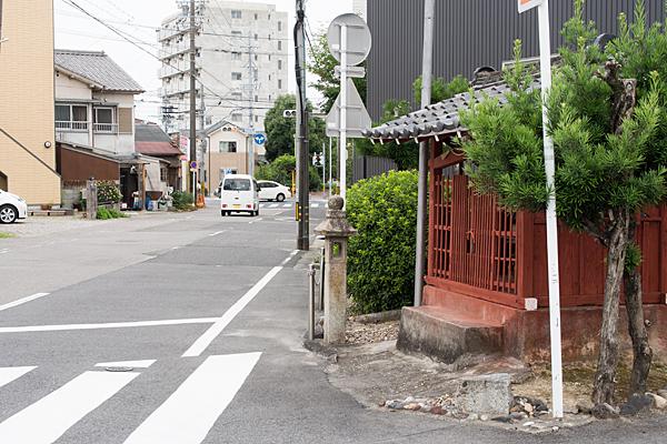 天王社らしき社
