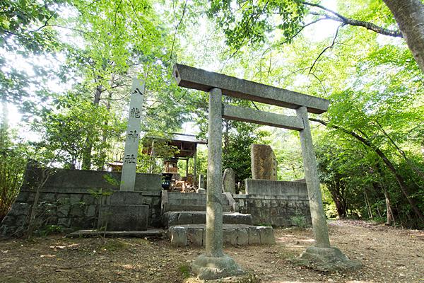 八龍神社全景