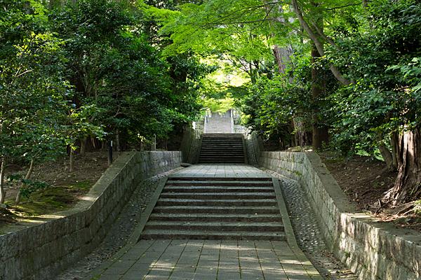 雲興寺参道