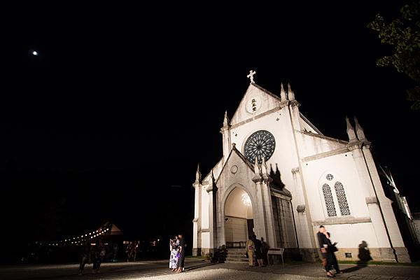 夜の聖ザビエル天主堂