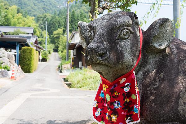 集落の牛さん