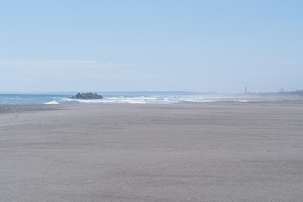遠州灘と米津の浜