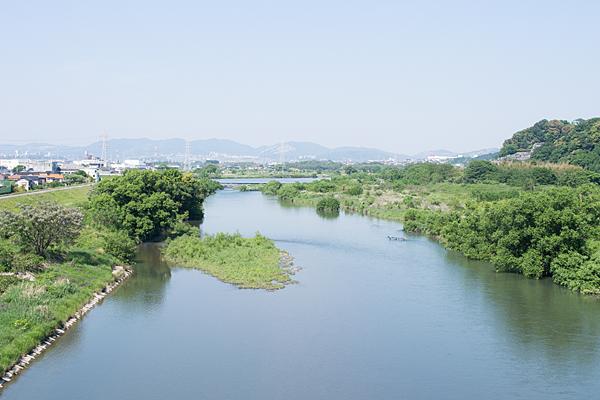 庄内川風景