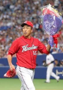 【広島】黒田博樹、NPB通算2000投球回を達成