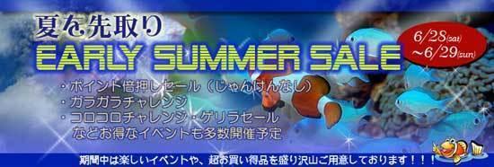 初夏セール
