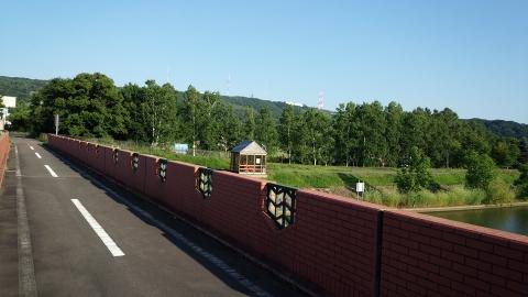 国鉄湧網線のSLが走っていた橋を渡って、終了です。