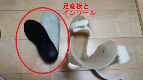 足底板と低反発インソール