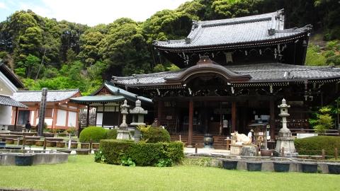 三室戸寺の本堂。