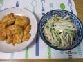 キュウリとダイコンとチクワのサラダ2