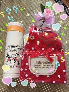 母の日のプレゼント☆.。.:*・