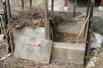 201604 堆肥箱の様子