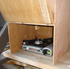 201604 燻製箱 カセットコンロ使用可能
