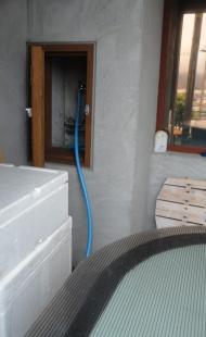 201609 ガーデンシンク給水システム改良 給水蛇口