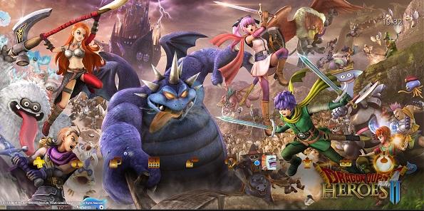 PS4 ドラゴンクエストヒーローズⅡ ドラゴンクエスト ドラクエ30周年 テーマ 無料